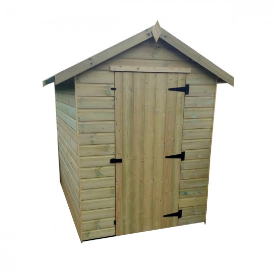 Apex Shed 4ft Wide x 6ft Deep No Windows Front Central Door