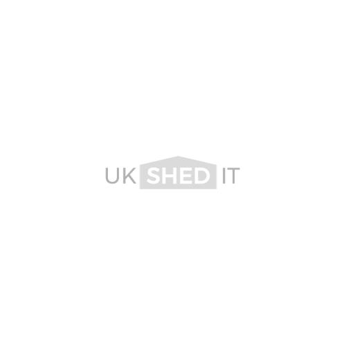 Pent Shed 8ft Wide x 6ft Deep No Windows Front Door